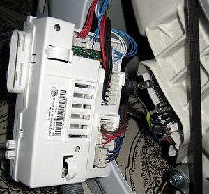 Как поменять модуль управления стиральной машины