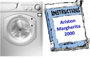 инструкция к машине Аристон