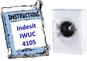 инструкция к Indesit IWUC 4105