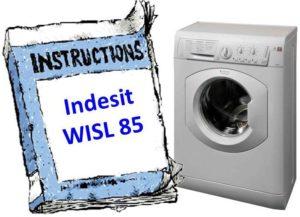 инструкция к Indesit WISL 85