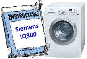 инструкция к Siemens IQ300