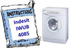 инструкция Indesit IWUB 4085