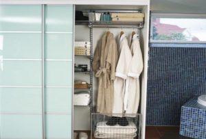 махровые халаты в сушильном шкафу