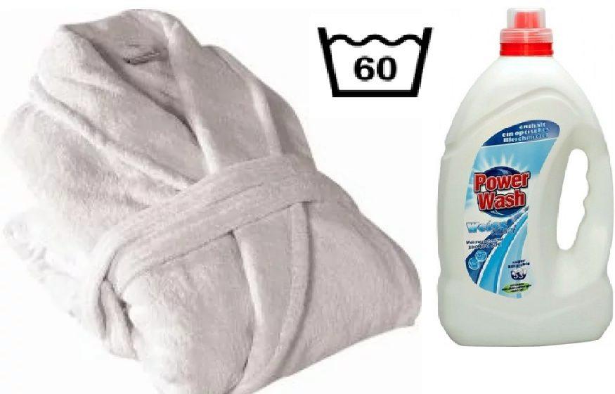 Как постирать махровый халат