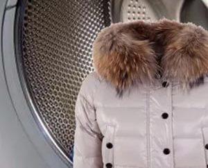 стирка зимней куртки