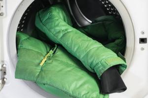 стирка куртки в машине