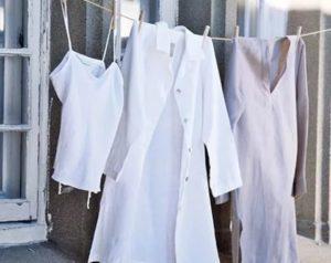 сушка медицинского халата