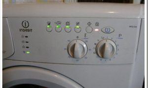 Стиральная машина Индезит WISL 102 - инструкция по применению