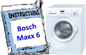 Стиральная машина Bosch Maxx 6 - инструкция по эксплуатации