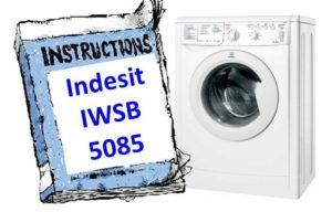 Инструкция для стиральной машины Indesit IWSB 5085