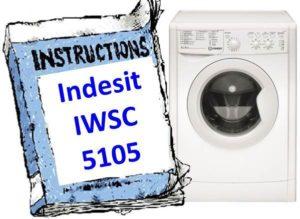 Инструкция для стиральной машины Indesit IWSC 5105