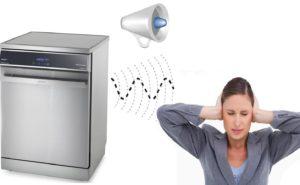 Посудомоечная машина гудит при работе