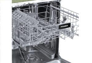 расположение корзин для посуды