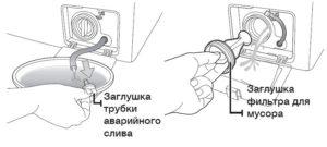 чистка фильтра в стиралке Ардо