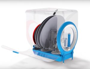 Посудомоечная машина для дачи без водопровода с баком для воды