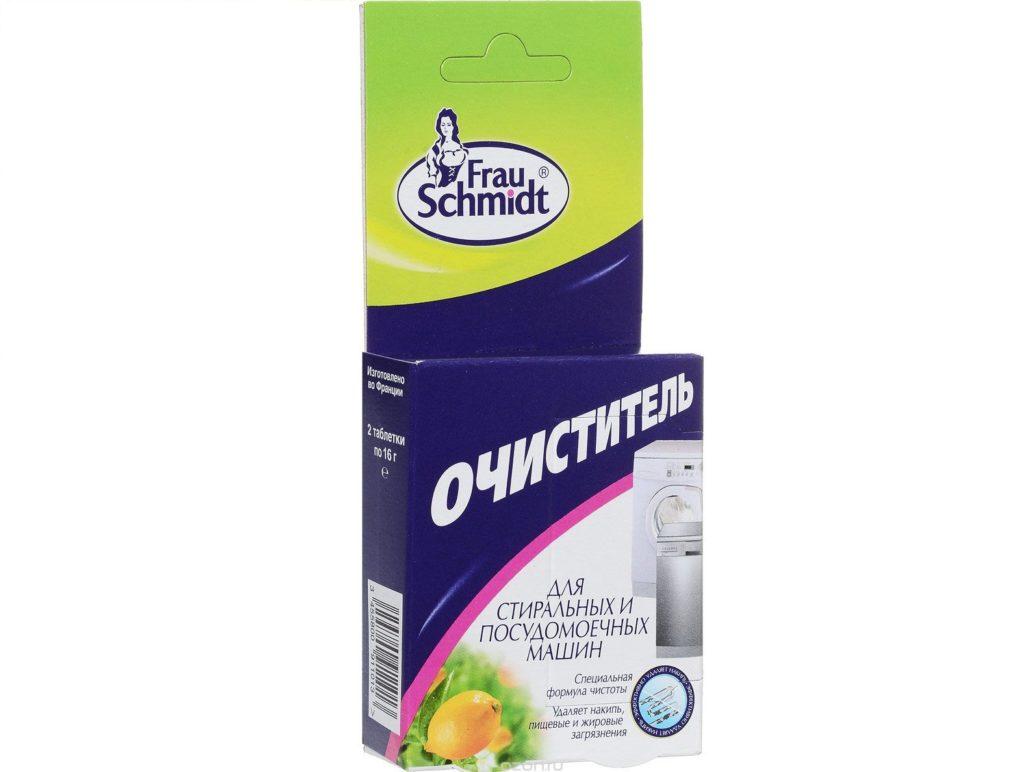 Таблетки для комплексной очистки посудомоечной машины Frau Schmidt