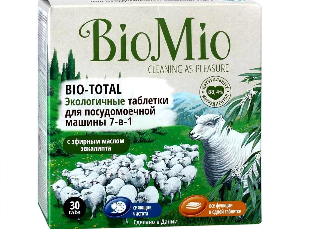 Таблетки для посудомойки BioMio