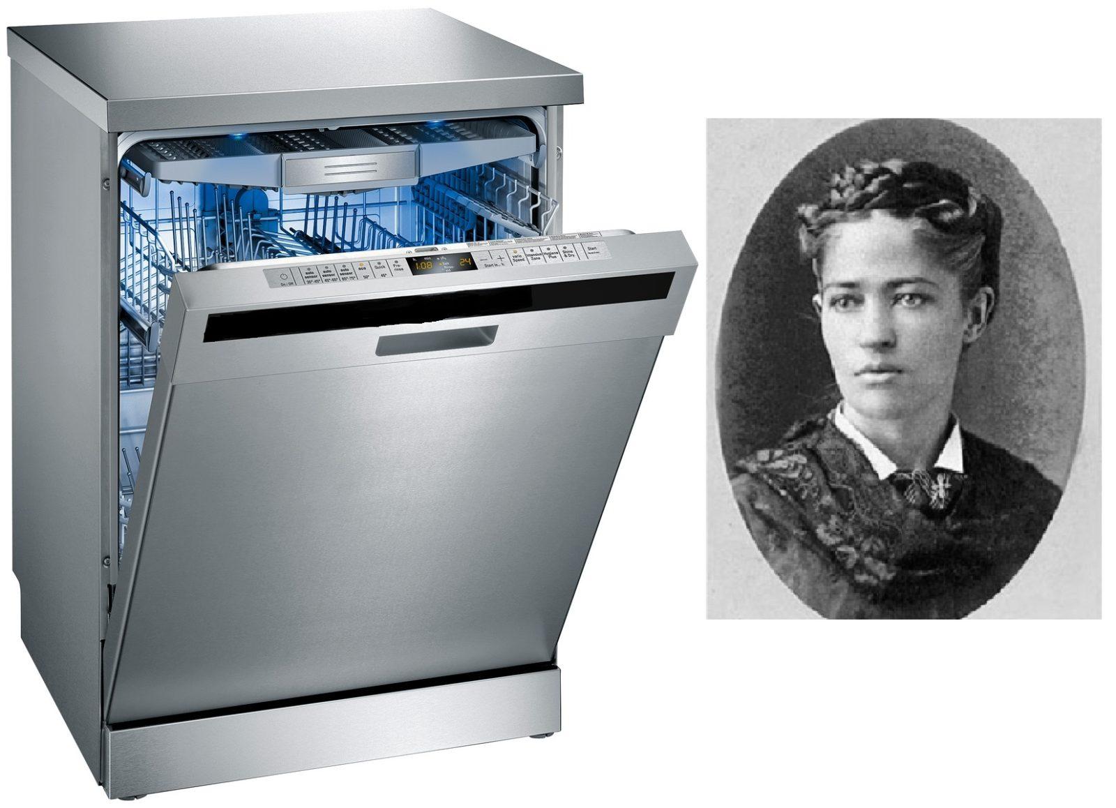 Кто придумал посудомоечную машину?