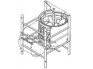рисунок первой в мире посудомоечной машины