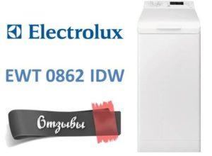 Отзывы о стиральной машине Electrolux EWT 0862 IDW