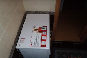 LG F1296SD3 стиральная машинка