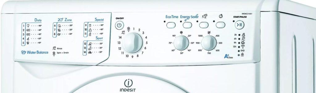 Indesit IWSC 61051 панель управления