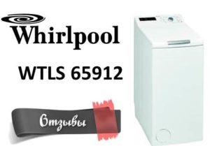 Отзывы о стиральной машине Whirlpool WTLS 65912