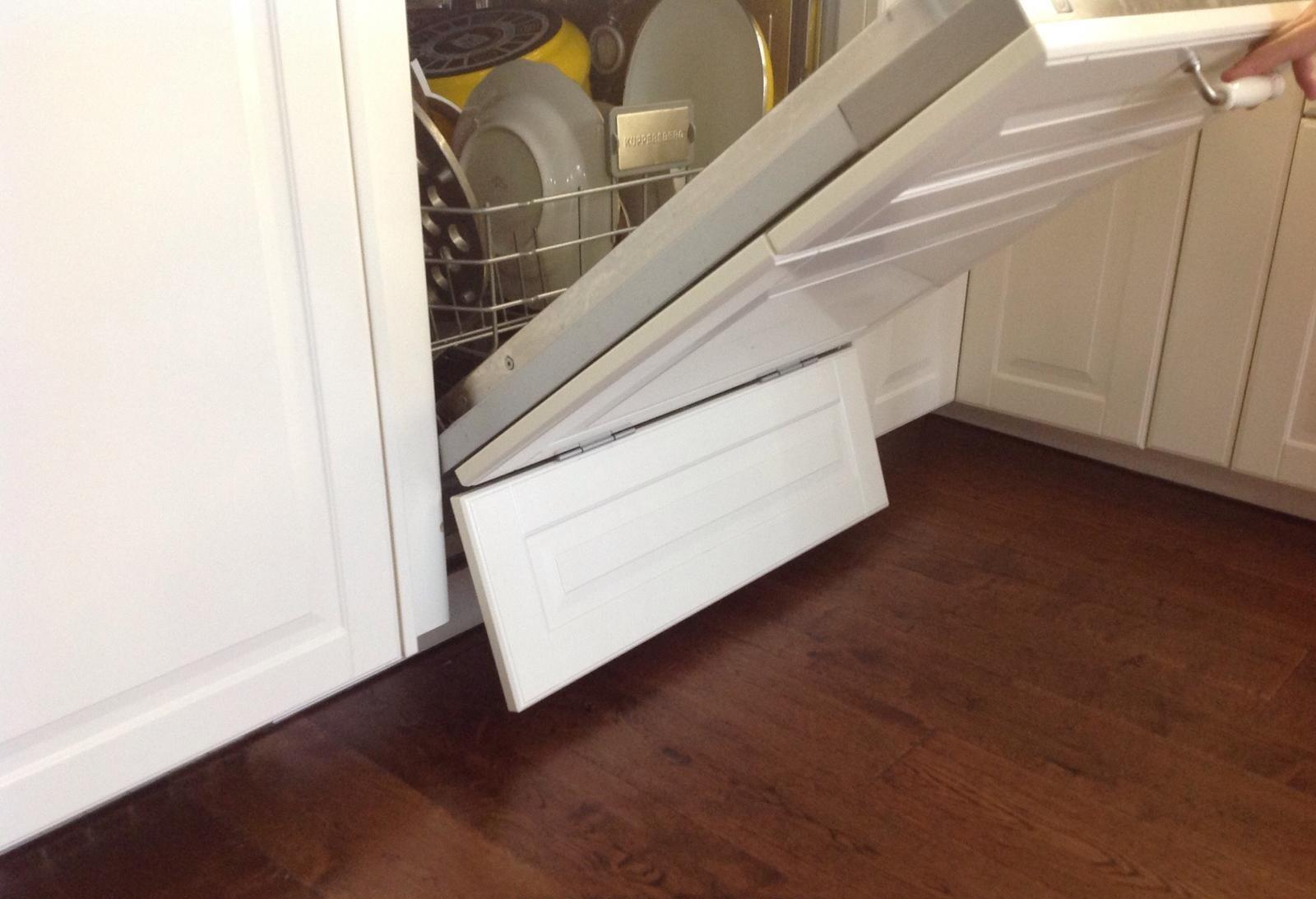 Как установить посудомоечную машину в кухню Икеа