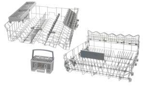 корзины для посуды верхняя и нижняя