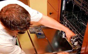 Ремонт дверцы посудомоечной машины Bosch