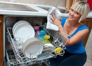 мытье посуды в ПММ