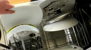 посуда в ПММ