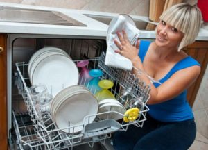 средство на посуде после мытья в ПММ