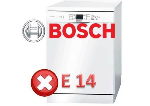 Как исправить ошибку E14 у посудомойки Bosch