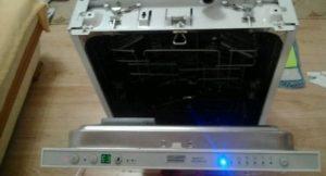 ошибка Е3 на посудомойке Крона
