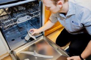 Посудомоечная машина Siemens не сливает воду - что делать