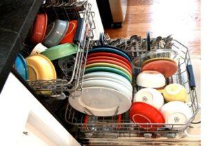 керамическая посуда в ПММ