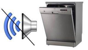 Как отключить звуковой сигнал у посудомоечной машины