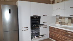 Как встроить посудомоечную машинв в пенал