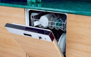 Обзор частично встраиваемых посудомоечных машин 45 см