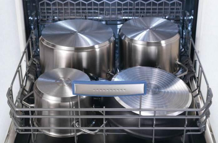 Как мыть кастрюлю в посудомоечной машине