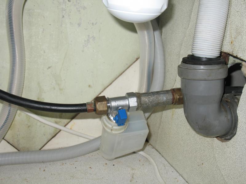 прямое подключение к канализации