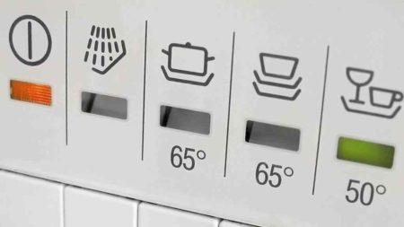 Режимы у посудомоечных машин
