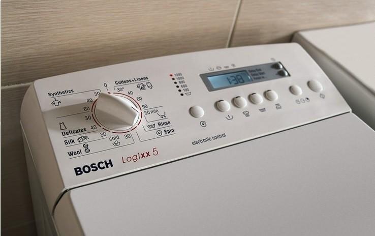 Стиральные машины Bosch с вертикальной загрузкой