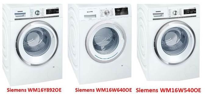 стиралки Siemens
