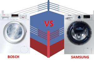 что лучше стиральная машина Бош или Самсунг