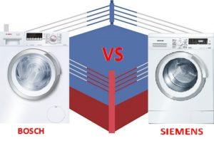 что лучше стиральная машина Бош или Сименс