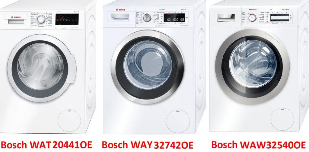 Bosch WAT20441OE Bosch WAY 32742OE Bosch WAW32540OE