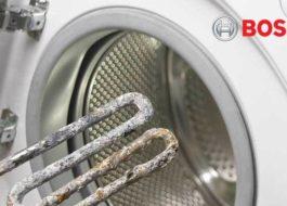 Стиральная машина Bosch не греет воду - что делать