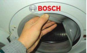 замена манжеты у СМ Бош